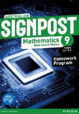 Australian Signpost Mathematics New South Wales  9 (5.1-5.3) Homework Program book