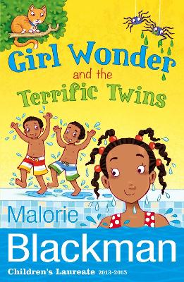 Girl Wonder and the Terrific Twins by Malorie Blackman