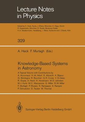 Knowledge-Based Systems in Astronomy by Andre HECK