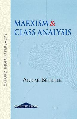 Marxism and Class Analysis book