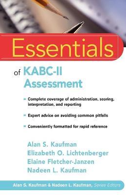 Essentials of KABC II Assessment book