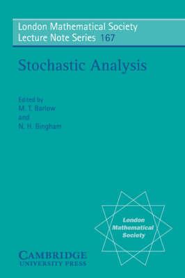 Stochastic Analysis by N. H. Bingham