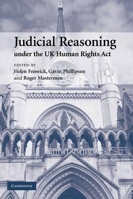 Judicial Reasoning under the UK Human Rights Act book