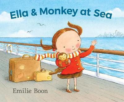 Ella and Monkey at Sea by Emilie Boon