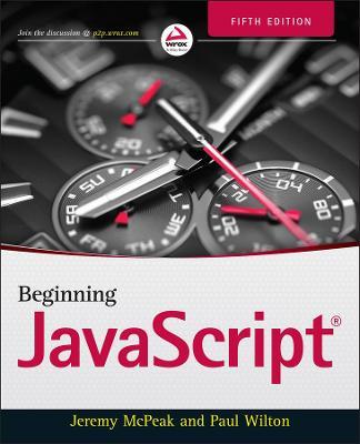 Beginning JavaScript by Jeremy McPeak