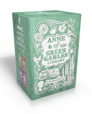 Anne of Green Gables Library by L. M. Montgomery