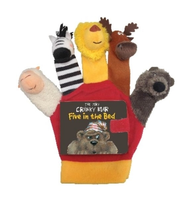 The Very Cranky Bear: Five in the Bed Hand Puppet by Nick Bland