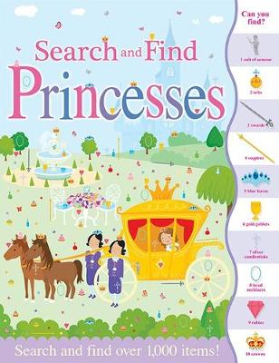Search and Find Princesses book