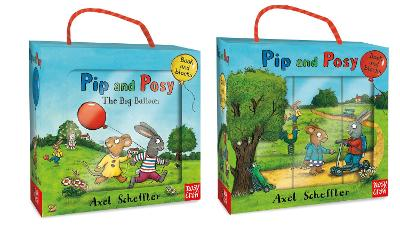 Pip and Posy Book and Blocks Set by Axel Scheffler