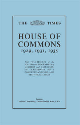 'Times' Guide to the House of Commons by Iain Dale
