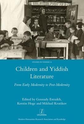 Children and Yiddish Literature book