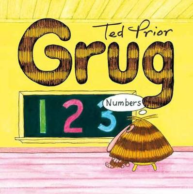 Grug Numbers Buggy Book by Ted Prior