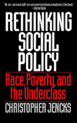 Rethinking Social Policy by Christopher Jencks