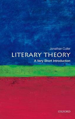 Literary Theory: A Very Short Introduction by Jonathan Culler