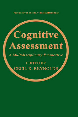 Cognitive Assessment by Cecil R. Reynolds