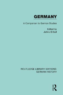 Germany: A Companion to German Studies book