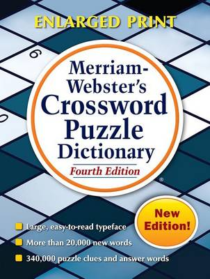 Merriam Webster's Crossword Puzzle Dictionary by Merriam-Webster