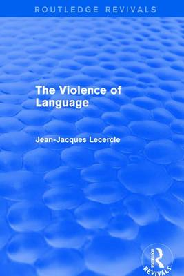 : The Violence of Language (1990) book