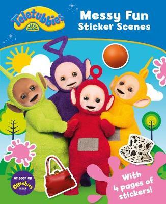 Teletubbies: Messy Fun Sticker Scene by