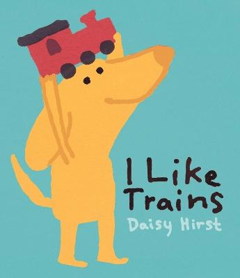 I Like Trains book