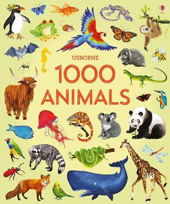1000 Animals book