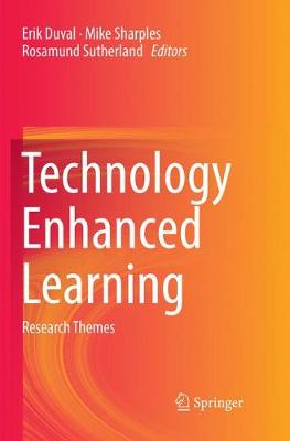 Technology Enhanced Learning: Research Themes by Erik Duval