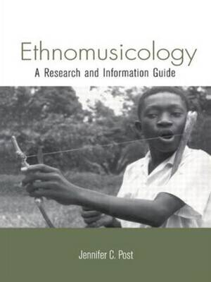 Ethnomusicology by Jennifer Post