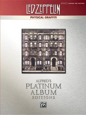 Led Zeppelin -- Physical Graffiti Platinum Guitar by Led Zeppelin
