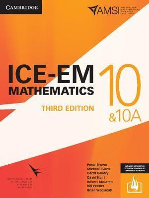 ICE-EM Mathematics 3ed Year 10 Print Bundle (Textbook and Interactive Textbook) by Peter Brown