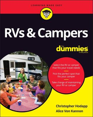 RVs & Campers For Dummies book