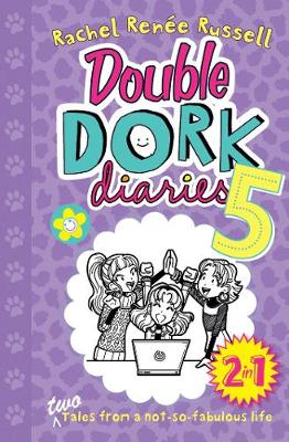 Double Dork Diaries #5: Drama Queen and Puppy Love by Rachel Renee Russell