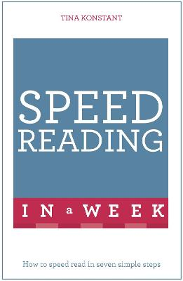 Speed Reading In A Week book