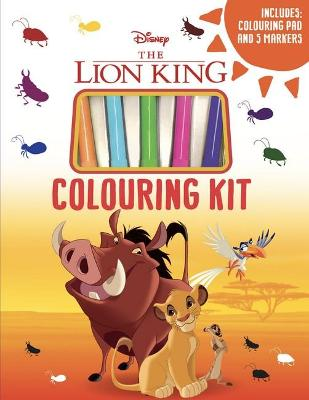 The Lion King Colouring Kit book