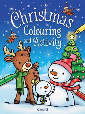Christmas Colouring and Activity by Angela Hewitt