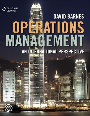 Operations Management: An International Perspective by David Barnes