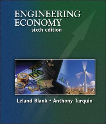 Engineering Economy by Leland Blank