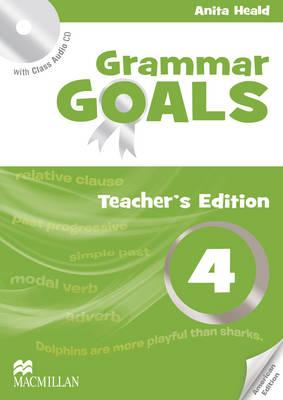 American Grammar Goals Level 4 Teacher's Book Pack by Anita Heald