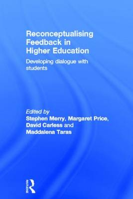 Reconceptualising Feedback in Higher Education book