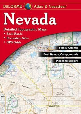 Nevada Atlas and Gazetteer by Rand McNally