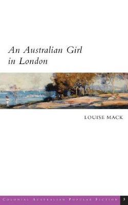 An Australian Girl in London book