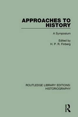 Approaches to History book
