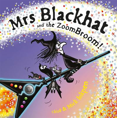 Mrs Blackhat and the ZoomBroom book