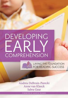 Developing Early Comprehension by Andrea DeBruin-Parecki