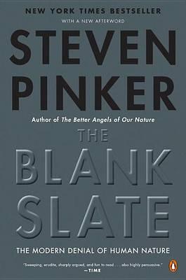The Blank Slate by Steven Pinker