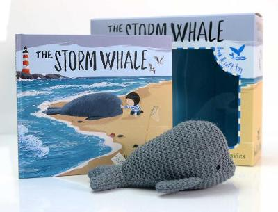 The Storm Whale Book and Soft Toy by Benji Davies