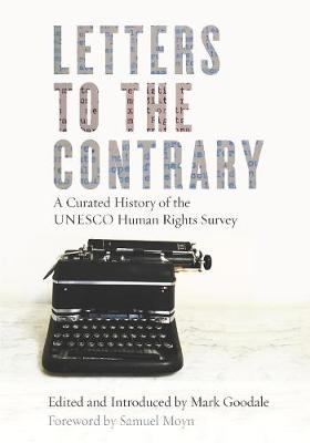 Letters to the Contrary by Mark Goodale