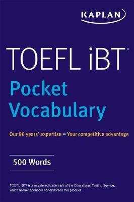 TOEFL Pocket Vocabulary book
