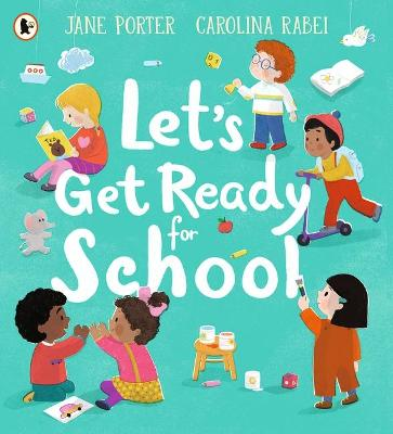 Let's Get Ready for School book