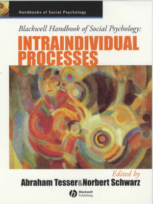 Blackwell Handbook of Social Psychology book