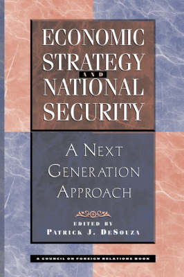 Economic Strategy And National Security book